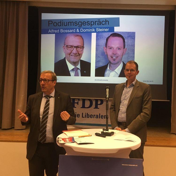 Die FDP.Die Liberalen Nidwalden fassen Abstimmungsparolen zu den Vorlagen vom 19. Mai 2019